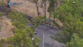 2016 Tour Down Under - Stage 3 Extended Highlights