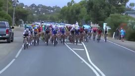 2016 Tour Down Under - Stage 4 Short Highlights