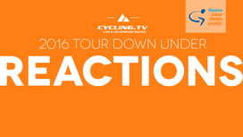 2016 Tour Down Under - Stage 1 Reactions