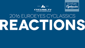 2016 EuroEyes Cyclassics Post Race Reactions