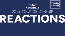 2016 Tour de l'Avenir Stage 8 Post Race Reactions