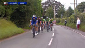 2016 Tour of Britain - Stage 3 Extended Highlights