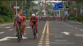 2016 Tour of Hainan - Stage 1 Extended Highlights