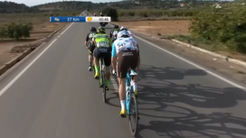 2017 Volta a la Comunitat Valenciana - Stage 3 Short Highlights
