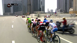 2017 Abu Dhabi Tour - Stage 2 Short Highlights