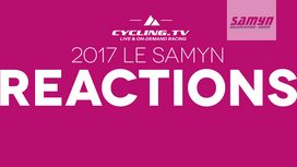2017 Le Samyn Reactions