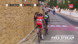 2017 Vuelta a España - Stage 9 Extended Highlights
