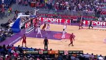 Fofana with the Alley-Oop Slam!
