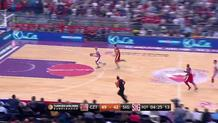 Zibres steal and slam