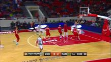 Sasha Pavolovic Fast Break Layup
