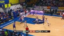 Alexey Shved with the Screened Three-Pointer