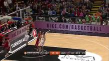 Mike James' Fast Break Layup
