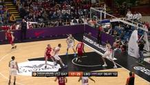 Krunoslav Simon's Three-Pointer after Nice Pass