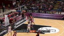 Krunoslav Simon's Three-Pointer after Fancy Passing