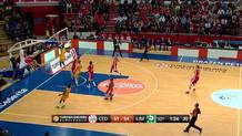 Boungou-Colo with a Fast Break Dunk