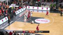 Janis Strelnieks Three-Pointer