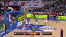 Ioannis Bourousis, Turn-Around Jumper