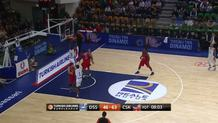 Eyenga Fast-Break Rebound and Slam