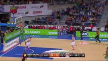 Adam Hanga with the Fast-Break Layup