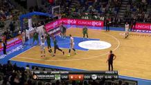 Markoishvili Takes Blow, Hits Shot