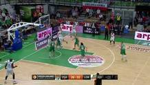 Victor Claver Attacks the Rim