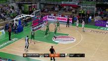 Malcolm Delaney's No-Look Shot