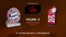 Round 3: FC Bayern Munich vs. Strasbourg (Highlights)