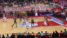 Vassilis Spanoulis Hits the Step-Back Three