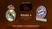 Round 4: Real Madrid vs. FC Bayern Munich (Highlights)