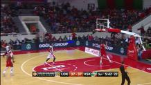 Victor Claver, dunk