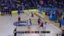 Malcolm Delaney , three-pointer Lokomotiv Kuban Krasnodar