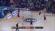 Alex Abrines, three-pointer FC Barcelona Lassa