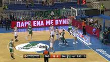 Raduljica with nice pass to Jankovic
