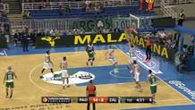 Raduljica finishes after nice passing