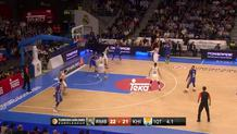 Vyaltsev nails three at buzzer