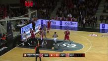 Simonovic buries a triple