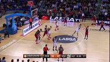 Juan Carlos Navarro, stop-and-pop triple