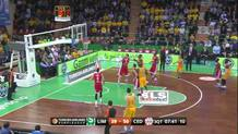 Boungou-Colo knocks down a three-pointer