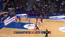 Milos Teodosic, three-pointer