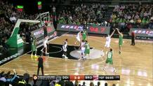 Milko Bjelica, three-pointer