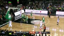 Leon Radosevic, driving layup