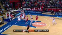 Cedevita runs a fast break
