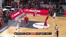 Miller's Three-Pointer Puts Bamberg within 1