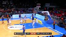 Diveroglou appears and dunks!