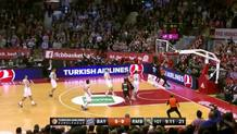 Bayern Starts the Scoring with a Dunk