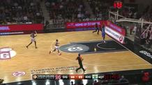 Alexey Shved fast break slam