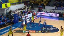 Sloukas hand-off to Udoh