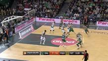Paulius Jankunas, three-pointer