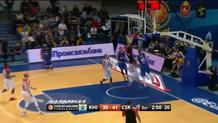 Zoran Dragic, block ----> Paul Davis layup