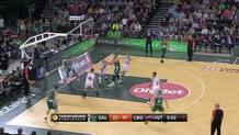 Adam Hanga blocks shot